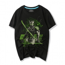 Overwatch Genji Graphic Tees