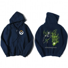 Overwatch Genji Sweatshirt Mens Black Hoody