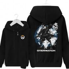 Overwatch Hanzo Hooded Sweatshirts Men Black Hoodie
