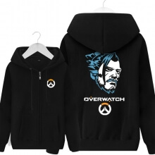 Overwatch Hanzo Sweatshirt Men Black Sweater