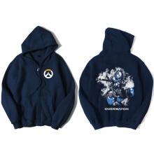 Overwatch Hero Ana Sweatshirt Men Blue Sweater