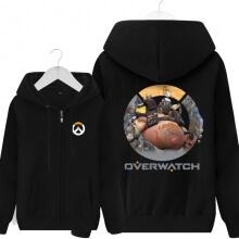 Overwatch Hero Roadhog Merchandise Mens Black Hoodies