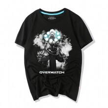 Overwatch Ink Print Zenyatta Graphic Tees