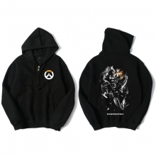 Overwatch Junkrat Sweat Shirts Mens Black Hoodie