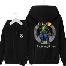 Overwatch lucio Sweatshirt Mens Black Hoodie