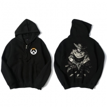 Overwatch Mccree Sweatshirt Men Black Sweater