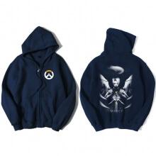 Overwatch Mercy Sweatshirt Men Black Sweater