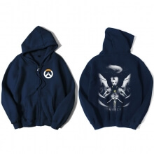 Overwatch Mercy Sweatshirt Men Black Sweater