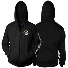 Overwatch Overwatch Logo Hoody For Men Black Hoodie