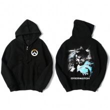Overwatch OW Hanzo Sweater Mens Black Hoodies