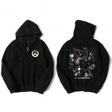 Overwatch OW Reinhardt Sweatshirt Men Black Sweater
