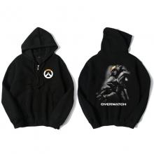 Overwatch Pharah Hoodie For Mens Black Sweatshirt