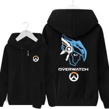 Overwatch Pharah Sweater Mens Black Hoodies