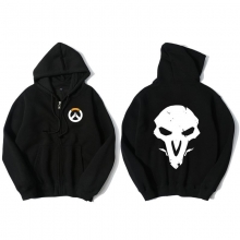 Overwatch Reaper Sweater For Young Black Sweat Shirt