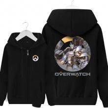 Overwatch Reinhardt Sweatshirt Mens Black Hoody