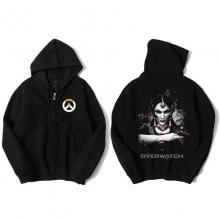 Overwatch Symmetra Sweat Shirts Mens Black Hoodie