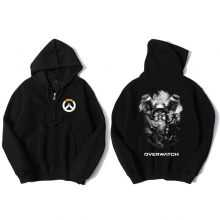 Overwatch Torbjorn Sweater Mens Black Hoodies