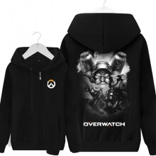 Overwatch Torbjorn Sweatshirt Mens Black Hoodie