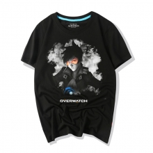Overwatch Video Game Ink Print Tracer Graphic Tees