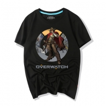Overwatch Video Game Mccree T Shirts