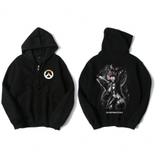 Overwatch Widowmaker Hoodie 3Xl Zipper Clothing For Boys