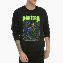 Pantera Band Sweatshirt Skull Rock Crew Neck Hoodie