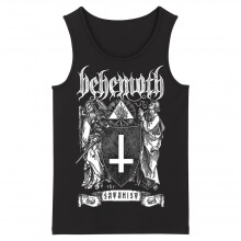 Personalised Behemoth Tank Tops Hard Rock Black Metal Rock Sleeveless Shirts