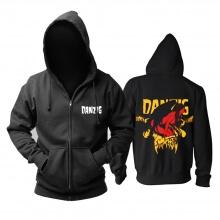Personalised Danzig Hooded Sweatshirts Us Metal Rock Band Hoodie