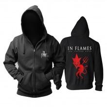 Personalised In Flames The Jester Race Hoodie Sweden Metal Music Sweatshirts