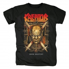 Personalised Kreator Iron Destiny Tees Germany Metal T-Shirt