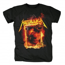 Personalised Metallica Jump In The Fire Tee Shirts Us Metal Rock T-Shirt
