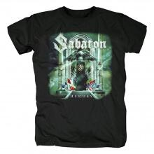 Personalised Sabaton Band Tee Shirts Sweden Metal Punk Rock T-Shirt