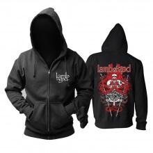 Personalised Us Lamb Of God Hoodie Metal Music Band Sweat Shirt