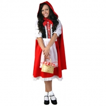 The Princess Cloak Cosplay Costume Women Little Red Riding Hood Performance Clothing