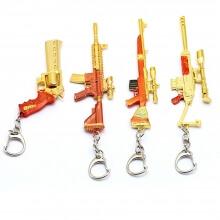 Pubg metal weapon gun model Key Chains