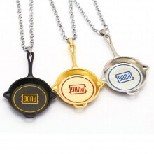 Pubg Olive branch pan Necklace