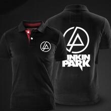 Qaulity Linkin Park Black Polo Shirt for men