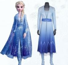 Frozen 2 Elsa Dress Costume Princess Anna Cosplay Costume