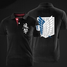 Quality Attack on Titan Polo T shirt for men