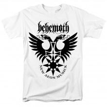 Quality Behemoth Band Abyssus Abyssum Invocat T-Shirt Black Metal Tshirts