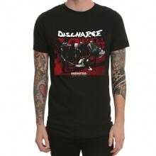 Quality Discharge Old Heavy Metal Rock Tshirt Black