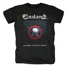 Quality Enslaved Axioma Ethica Odini T-Shirt Black Metal Graphic Tees