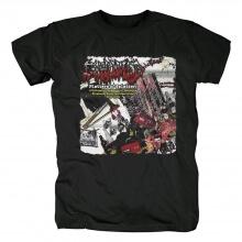 Quality Exhumed Platters Of Splatter Tshirts Metal Band T-Shirt
