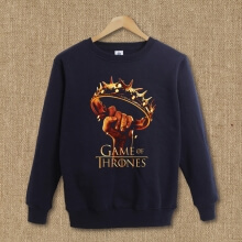Quality Game of Thrones Crown Pullover Hoodie