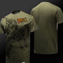 Quality League of Legends LOL Darius vs Garen T-shirt
