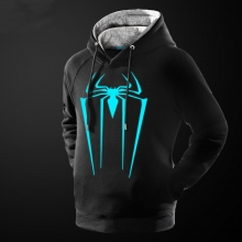 Quality Luminous Spider-Man Hoodie for Men Boys