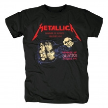 Quality Metallica Hammer Of Justice Crushes You T-Shirt Us Metal Tshirts