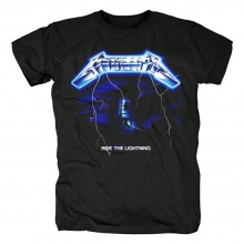 Quality Metallica Ride The Lightning T-Shirt Us Metal Rock Band Shirts