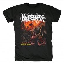 Quality Placenta Powerfist Parasitic Decay Tee Shirts Metal T-Shirt