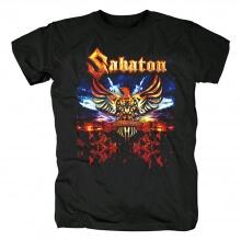 Quality Sabaton Tshirts Sweden Metal Punk Rock Band T-Shirt
